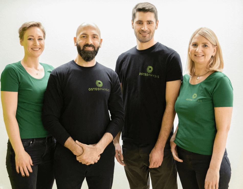Das Team von OSTEOPHYSIS